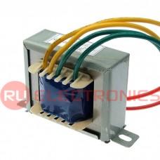Трансформатор 50гц RUICHI EI57*20 220v to 2x12V 11W, крепление на 2 винта