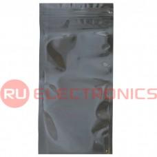 Пакет антистатический с замком zip-lock RUICHI 102x203 мм