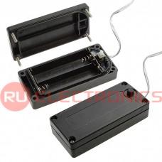 Батарейный отсек RUICHI BH AA 2*1 IP44, закрытый