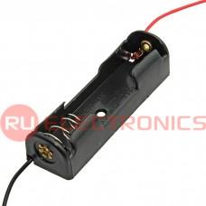 Батарейный отсек RUICHI Battery Holder for Li-ion 1X14500, открытый