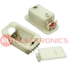 Батарейный отсек RUICHI AG10*4/AG13*3 switch 31*17*14 мм, закрытый
