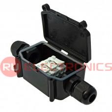 Коробка распределительная RUICHI BOX-2 IP65 2pin PC923B 10A/450V, пластик
