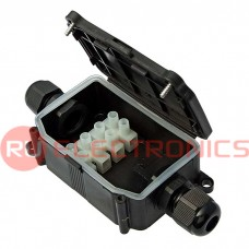 Коробка распределительная RUICHI BOX-2-1 IP65 2pin CA10 10A/450V, пластик