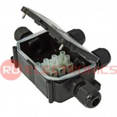 Коробка распределительная RUICHI BOX-4 IP65 3pin CA10-4P 10A/450V, пластик