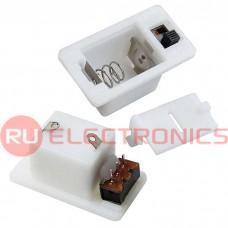 Батарейный отсек RUICHI AG10*3/AG13*2 switch 31*17*14 мм, закрытый