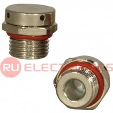 Клапан выравнивания давления RUICHI M16X1.5, никелированная латунь