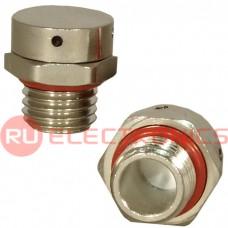 Клапан выравнивания давления RUICHI M12X1.5, никелированная латунь