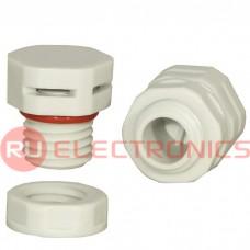 Клапан выравнивания давления RUICHI M12X1.5, PA66, платик, белый