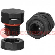 Клапан выравнивания давления RUICHI M12X1.5, PA66, платик, чёрный