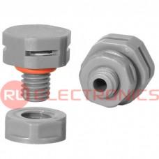 Клапан выравнивания давления RUICHI M8X1.25, PA66, платик, серый