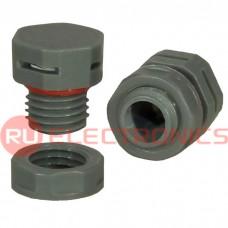 Клапан выравнивания давления RUICHI M12X1.5, PA66, платик, серый