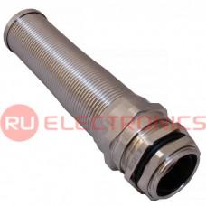 Кабельный ввод спиральный ZTM-ELECTRO MBA25-18, никелированная латунь