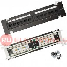 Патч-панель RUICHI RH-PPW1U12U5E