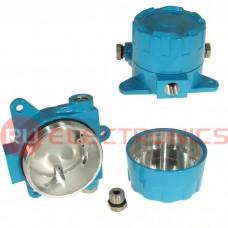 Корпус для РЭА SANHE BP18-1B синий, алюминиевый