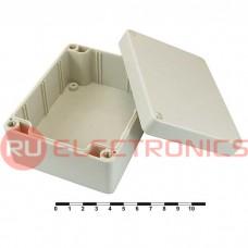 Корпус для РЭА пластиковый пылевлагонепроницаемый SANHE 11-3, 115x90x55 мм, для настенного монтажа