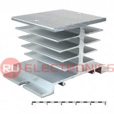 Охладитель RUICHI 80х57х50мм TD1, алюминий