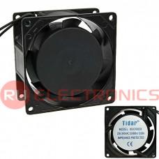 Осевой вентилятор AC TIDAR, RQA, 8038HSL, 220 В